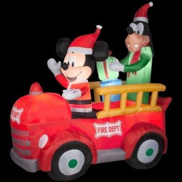 disney christmas inflatables - Disney Christmas Inflatables