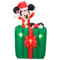 disney christmas inflatables disney and mickey mouse christmas blowups