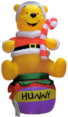 disney christmas inflatables disney and mickey mouse christmas blowups - Winnie The Pooh Christmas Decorations