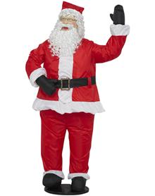 cool santa claus blowups life size
