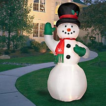 Snowman Blowups Snowman Inflatables And Yard Decorations