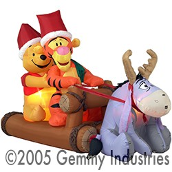 Disney Christmas Inflatables - Disney and Mickey Mouse Christmas ...